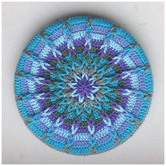 Atty's : Crochet Mandala Pot Coasters