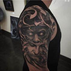 Tattoo by Josh Duffy. @tattoocrazy123