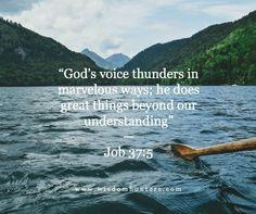 Wisdom Hunters Daily Devotional  » Voice of God