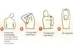 Alongamentos de braços