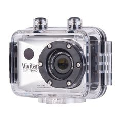 Vivitar Waterproof Action Camera. Capture every moment, even action packed, with this tiny waterproof camera.