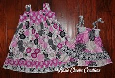 ad82819d436a Matching Big Sister Little Sister Outfits by RosieCheeksCreations, Matching  Clothes, Matching Family Outfits,