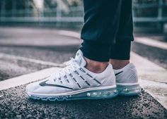 Air Max 2016 White On Feet