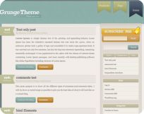 Grunge WordPress Theme