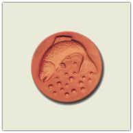 WANT Rycraft cookie stamp | Heirloom #315 Rainbow Trout $9.95