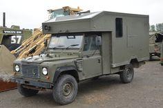 Land Rover 130 Defender Wolf RHD Evac Unit | used military vehicles, MOD surplus…