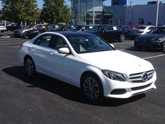 Hey! the weather's great so don't just drive pass, come in and see the luxury of the all New 2015 C-Class.