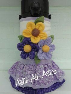 Capa de térmica flores