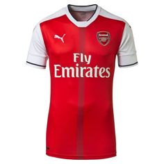 Camisas do Arsenal 2016-2017 Puma Titular