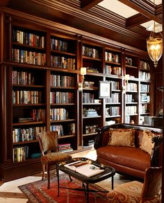 Home library design - Grateful Stylish Layout Classy Living Room of The Lounge Room Home Library Rooms, Home Library Design, Home Libraries, Home Office Design, House Design, Library Ideas, Garden Design, Beautiful Library, Dream Library