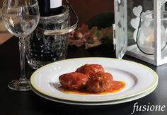 #polpette di carne mista al sugo di #pomodoro #ricetta #recipe #meatballs #Cirio
