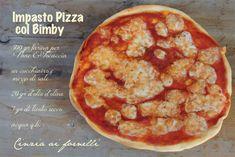Impasto pizza col Bimby #ricetta di @cceccolin Pizza, Cauliflower, Pancakes, Vegetables, Breakfast, Food, Home, Morning Coffee, Cauliflowers