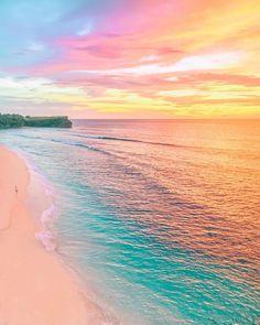 "iwwm Bali, Indonesia #iwwm ""Have you ever seen a beach made of rainbows?"" ✨"