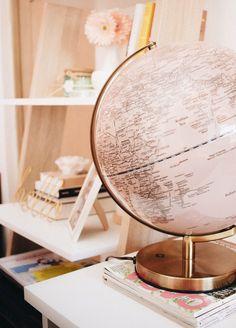 Download this free HD photo of decor, home, terrestrial globe and golden in Brazil by Ella Jardim (@ellajardim)