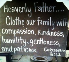 Scripture for laundry room