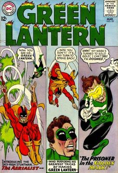 Green Lantern #35 cover by Gil Kane and Murphy Anderson March 1965