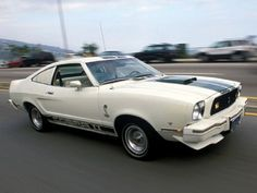 1976 Ford Mustang. A Pinto chassis with a V8. Plenty of potential !