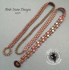 Multi wrap bracelet. I teach this as a workshop. Message me for details. Beth Stone Designs
