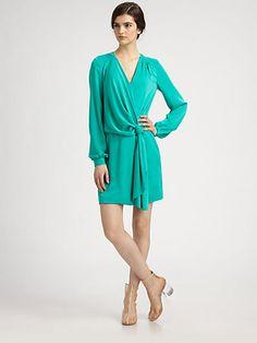 Diane von Furstenberg - Dora Silk Dress - Saks.com