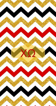 Glitter and chi O iphone backgrounds by @Liana Louie using monogram app