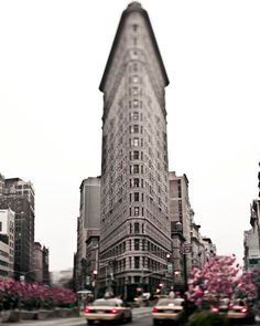 Flatiron Building New York City Photography Mad Men by Raceytay Spring In New York, Destinations, New York Photography, Flatiron Building, Nyc Art, New York Photos, Concrete Jungle, Best Cities, Amazing Architecture