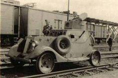 Ба-20ЖД советский бронеавтомобиль- бронедрезина  на службе в Вермахте /BA-20ЖД Soviet armored brunettino serving in the Wehrmacht