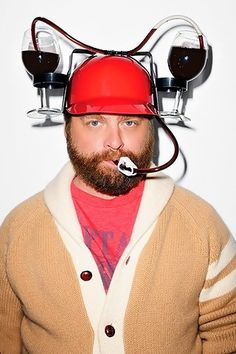 zach galifianakis.. but seriously.. I need this device..