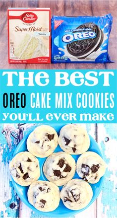 (Only 4 Ingredients) - Never Ending Journeys - - Oreo Cookie Recipe! (Only 4 Ingredients) – Never Ending Journeys Cookies Oreo Cake Mix Cookie Recipes! This easy oreo dessert is such a delicious cookie for any occasion! Cake Mix Cookie Recipes, Chocolate Cookie Recipes, Cake Mix Cookies, Oreo Cookies, Cookies Et Biscuits, Yummy Cookies, Cupcakes, Unique Cookie Recipes, Delicious Cookie Recipes