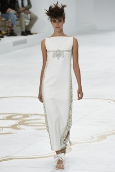 Chanel Couture Fall 2014 - Slideshow lower emblem, add dec. to shoulders, give more shape overall