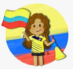 THAFF: Ya mañana nos llega la hora. Vamos colombia!!!!Com... Colombian Flag, South America, Memes, Avatar, Diy And Crafts, Disney Characters, Fictional Characters, Clip Art, Disney Princess