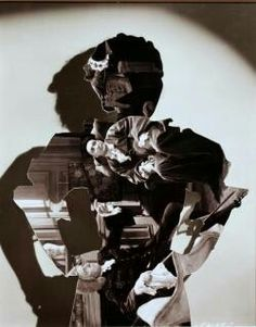 John Stezaker Shadow IV 2006 Collage 55 x 40 x 5 cm John Stezaker, John Baldessari, Eugenia Loli, Stone Statues, Buddha Statues, Angel Statues, Statue Tattoo, Saatchi Gallery, Galleries In London