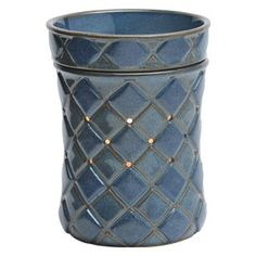 Casbah Full-Size Scentsy Warmer PREMIUM This regularly priced #blue warmer at $35, is on sale for $14 only for a limited time! only through 7/6/15! www.wicklessleslie.com