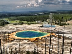 Grand Prismatic Spring | Yellowstone National Park | Wyoming