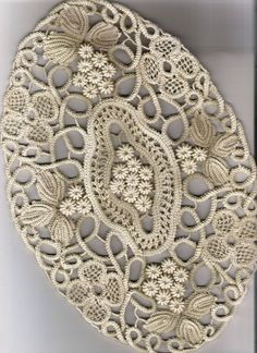Romanian Point Lace Crochet and Irish Crochet motifs