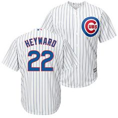 ff1317cd11365 Get this Chicago Cubs Jason Heyward Home Cool Base Replica Jersey at  WrigleyvilleSports.com