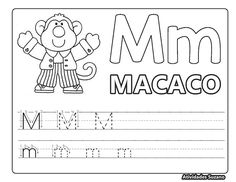Meu livrinho do alfabeto2 – Atividades Pedagógicas Suzano Kindergarten, Math Equations, Atv, Alice, Teaching, Learning Activities, Literacy Activities, Alphabet Book, Lyrics