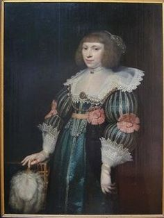 Jan Anthonisz van Ravesteyn, portrait of a woman, 1632 - Stichting Brantsen van de Zyp