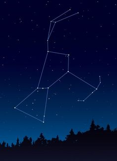 I will get a tattoo of this constellation, I have always loved this one!