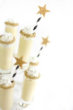 Champagne Chantilly Shooters
