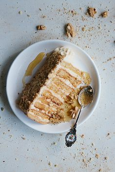 Honey Cake with Sour Cream filling