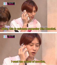 Heechul ví, jak dostat slevu :'D