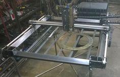cnc plasma cutter plans CNC Plasma Table: 21 Steps (with Pictures) Cnc Plasma Cutter, Plasma Cutting, Table Plasma, Cnc Router Table, Cnc Table, Welding Table, Homemade Cnc, Hobby Cnc, 3d Cnc