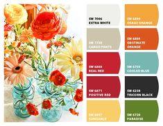 color scheme for girls room