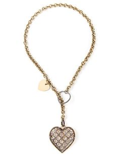 Shop Lanvin heart pendant necklace in Maria STORE from the world's best independent boutiques at farfetch.com. Over 1000 designers from 300 boutiques in one website.