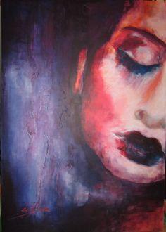 by Ági Boda, acrylic on canvas, 100x70 cm
