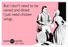 Come on in for 1/2 Price Wings Tonight Only!