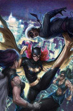 Awesome BATMAN, BATGIRL, and NIGHTWING Geek Art Series — GeekTyrant