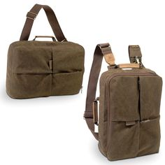 The Africa Small Ruckack (NG A5250) will carry all your essentials, keeping your photographic or video gear, as well as a laptop, safe and secure, while allowing ample room for personal effects. Patent-pending design lets you carry this bag as either a backpack or shoulder bag by connecting the left shoulder strap differently.