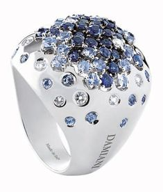 Jewelry News Network: Damiani's New Rings Showcase its Color Pallet and Design Breadth