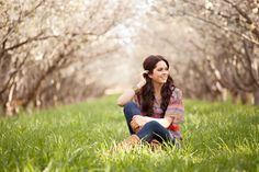 pictures in an orchard!